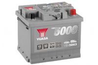 Yuasa 12v 50Ah 480A Silver Car Battery YBX5063 (HSB063) Buy Online from The Battery Shop